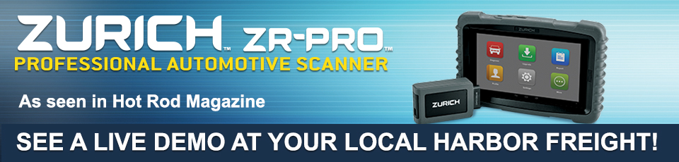Zurich ZR_PRO Porfessional Automotive Scanner