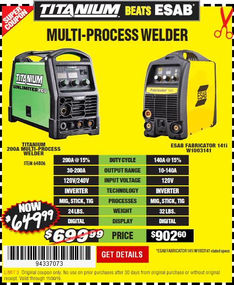 Multi-Process Welder