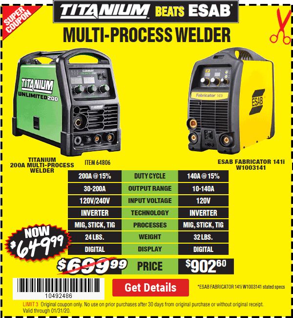 Multi-Process Welder