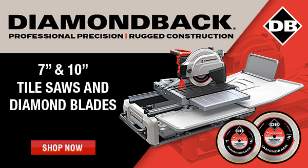 Diamond Table Saw and Blades
