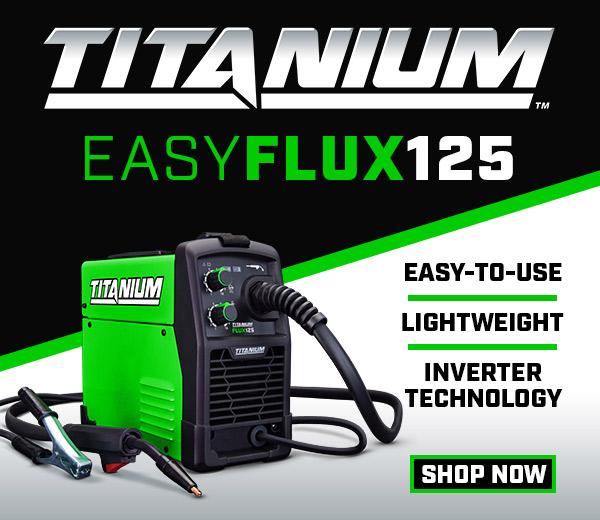 Titanium Flux Welder
