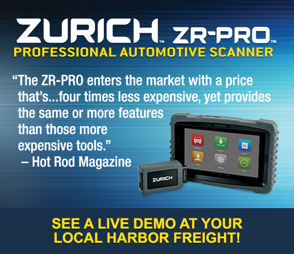 Zurich ZR_PRO Auto Scanner