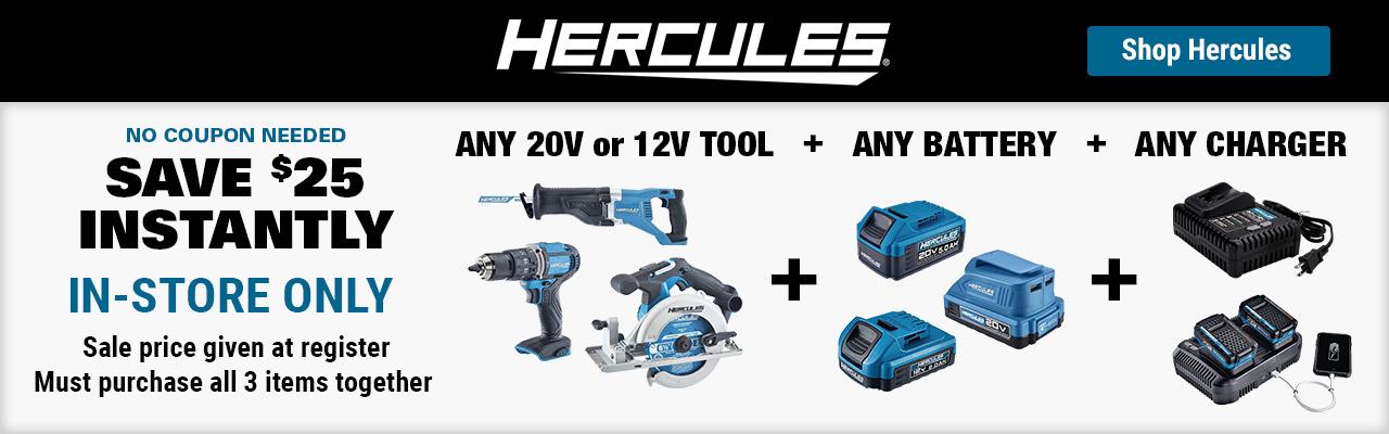 Build Your Own Kit - Hercules