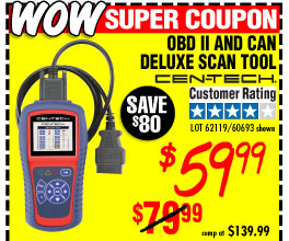 OBD II  & CAN Deluxe Scan Tool