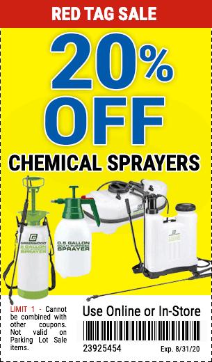 20% Off Garden Sprayers