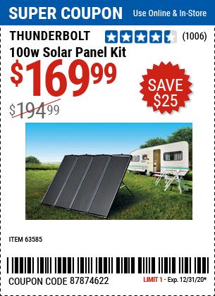 100 Watt Solar Panel Ki