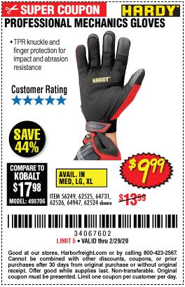 Professional Mechanics Gloves