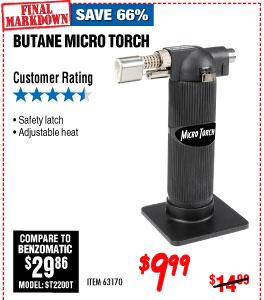 Butane Micro Torch