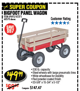 Bigfoot Panel Wagon