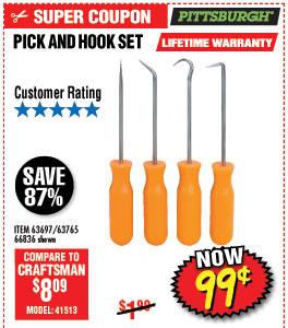 Mini Pick and Hook Set