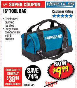 16 in. Tool Bag