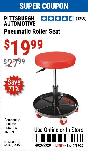 Pneumatic Roller Seat