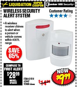 Wireless Security Alert System