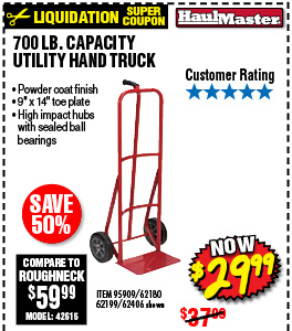 700 lb. Capacity Utility Hand Truck