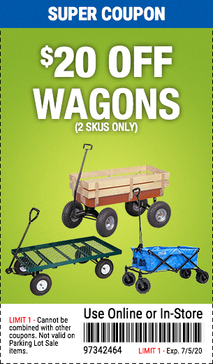 $20 Off Wagons (60359  60570 56177)