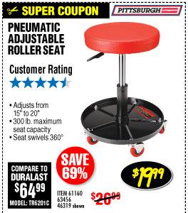2Pneumatic Roller Seat