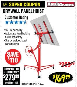 Drywall Panel Hoist