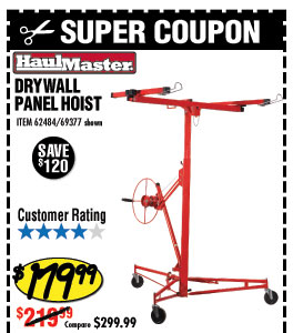 Drywall Panel Hoist
