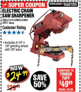 Electric Chain Saw Sharpenerdcccccc