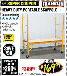 Heavy Duty Portable Scaffold