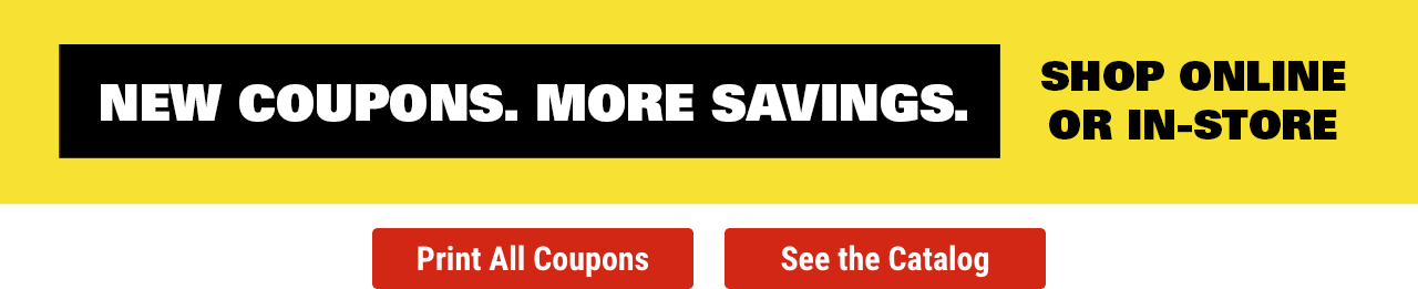 Coupons for Your Essential Needs