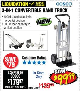 3-In-1 Convertible Hand Truck