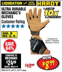 Ultra Durable Mechanic's Gloves