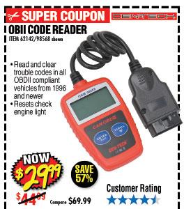 OBII Code Reader