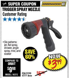 Trigger Spray Nozzle