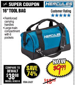 216 in. Tool Bag