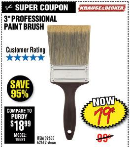 3 in. Professional Paint Brush