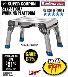 3Step Stool/Working Platform