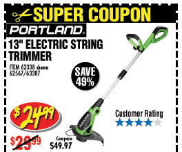13 in. Electric String Trimmer