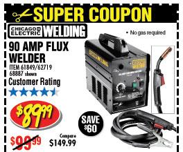 90 Amp Flux Welder
