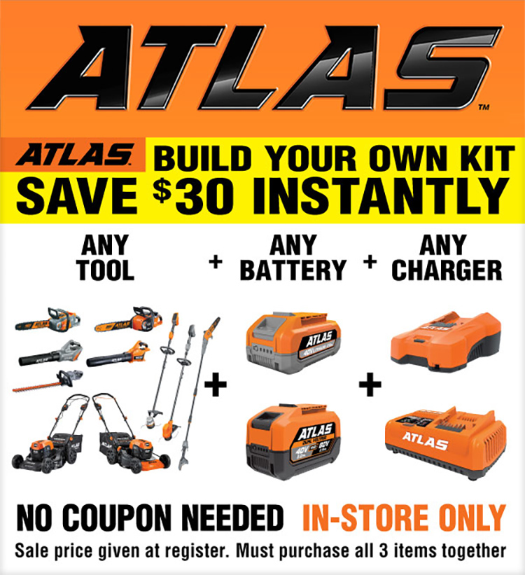 Atlas - Build Your Own Kit