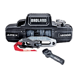 Badland APEX 12,000 lb. Winch With Synthetic Rope And Wireless Remote - 56385