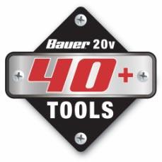 Bauer 20V 40+ Tools