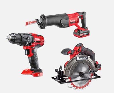 Any Bauer 20V Tool