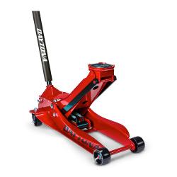 Daytona 3 Ton Low Profile Super Duty Rapid Pump® Floor Jack, Candy Apple Metallic Red - 57589