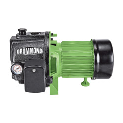 Drummond 1 HP Cast Iron Shallow Well Pump With Pressure Control Switch - 63752