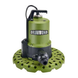 Drummond 1/4 HP Worry-Free Automatic Submersible Utility Pump - 56599