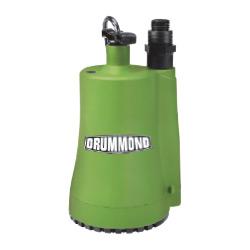 Drummond 1/6 HP Submersible Utility Pump 1600 GPH