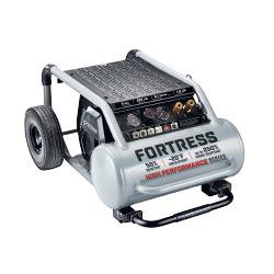 Fortress 5 Gallon 225 PSI High Performance Wheeled Jobsite Air Compressor