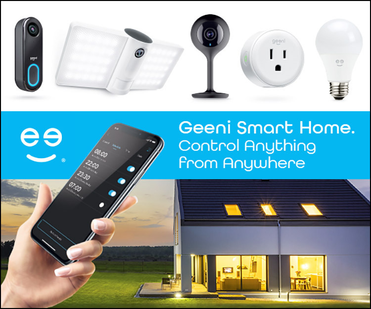 Geeni Smart Home. Control Anything from Anywhere