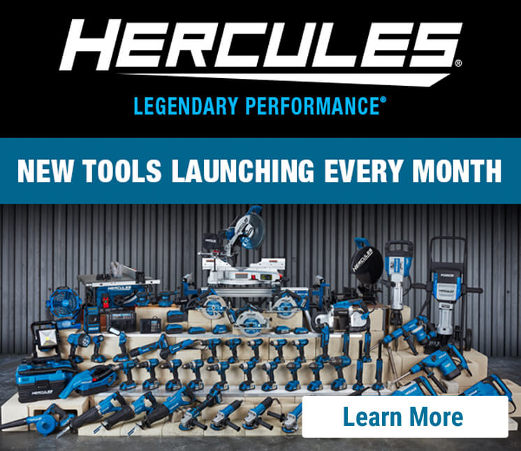Hercules tool launching every month