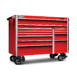 ICON 56 in. X 25 in. Professional Roll Cab, Red - 56134