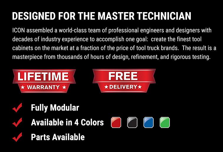 Icon| Designed for the Master Technician