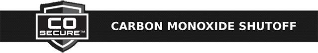 CO Secure™ Carbon Monoxide Shutoff