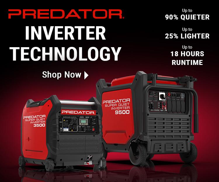 Predator Inverter Technology: Shop Now