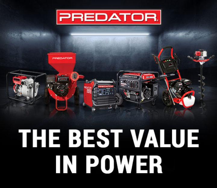PREDATOR - THE BEST VALUE IN POWER